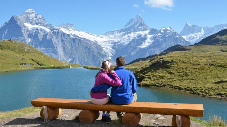 couple_bench_mountain_lake_hug_date_romance_67645_1920x1080